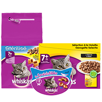 WHISKAS Chats 7 ans et +